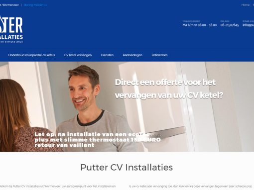 Putter CV Installaties