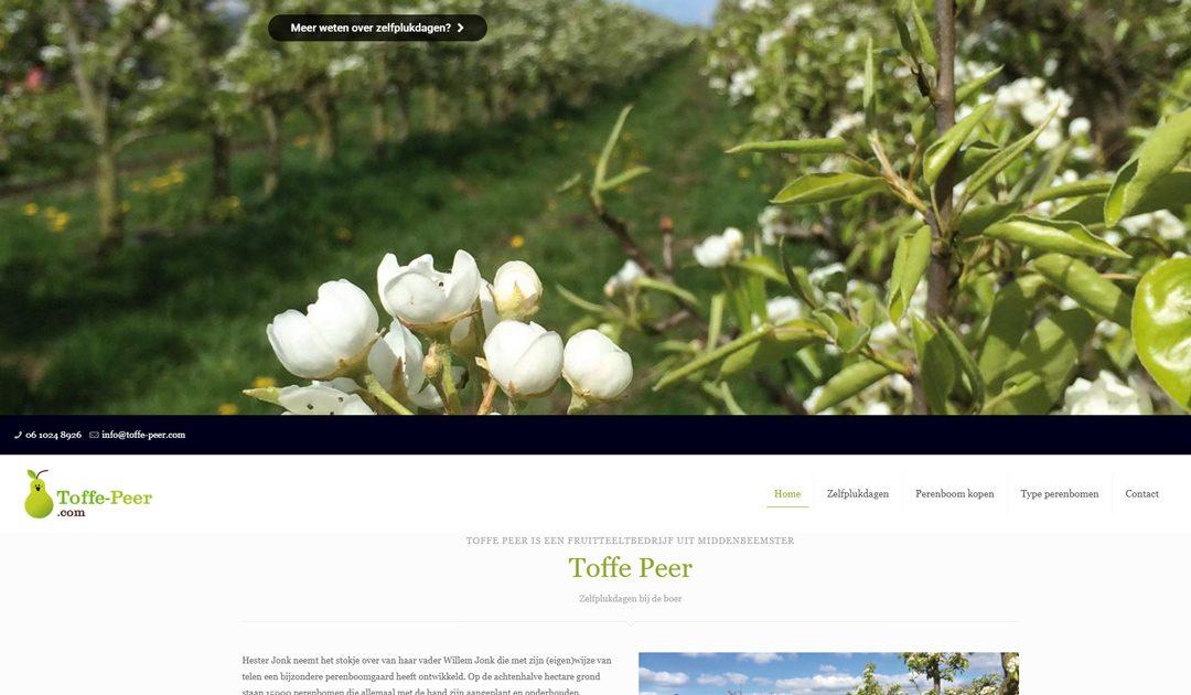 Toffe-Peer is een mooie website
